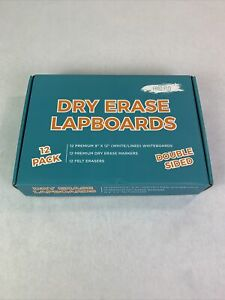 Frio Flow Dry Erase Lapboards Double Sided With All Materials New K09