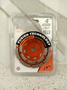 Ridgid 4 Diamond Cup Wheel With Fusion Technology
