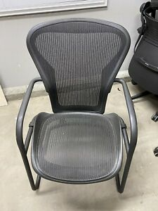 Herman Miller Aeron Side Chair Size B And In Perfect Shape