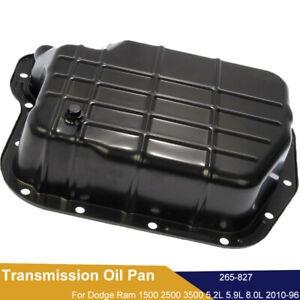 Transmission Pan 265 827 For Dodge Ram 1500 2500 3500 B1500 46re 47re 48re
