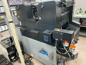 Ab Dick 9995c 2 color Offset Printing Press Working Already Palletized