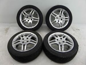 15 Momo Split Spoke Wheels 4 X100 Vw Mk1 Mk2 Golf Rabbit Gti Jetta Honda Civic