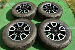 18 Toyota Tundra Off Road Oem Factory Wheels Tires Trd Offroad Sequoia Tpms