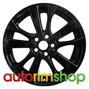 New 18 Replacement Rim For Nissan Altima 2016 2017 2018 Wheel Gloss Black