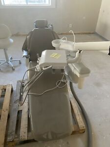 Healthco Dental Chair With Pelton And Crane Delivery And Over Head Light