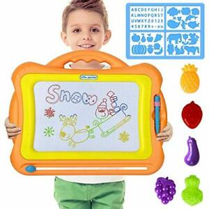 Loyo Magnetic Drawing Board Magna Doodle Scribble Board Erasable Colorful