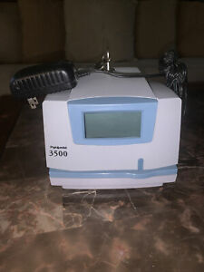 with 2 Keys Pyramid 3500 Time Clock Document Stamper Recording Payroll Machine