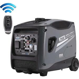 Pulsar 4 500 Watts Portable Inverter Generator W Electric Remote Start G450rn
