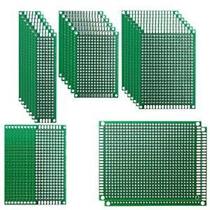 Haitronic Double Sided Blank Circuit Pcb Board Prototype Kit For Diy Solderin