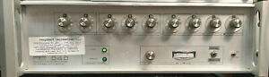 Frequency Synthesizer Programmed Test Sources Inc Pts 040