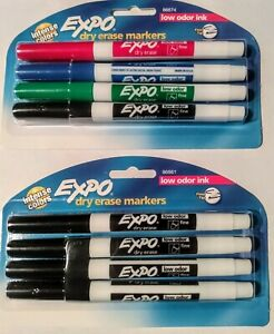 Expo Low Odor Dry Erase Markers Bundle