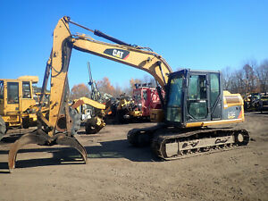2011 Caterpillar 312dl Excavator Nice Demolition Grapple 3 2 Cat 312 Demo