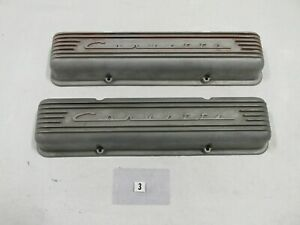 Corvette Valve Covers For A Sbc Minor Repairs Started P N 3767493