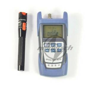 Laser Power Fiber Optic Power Meter Cable Tester Visual Fault Locator 10mw New