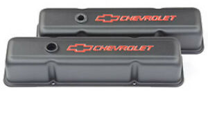 Proform Parts Stamped Steel Sbc Chevrolet Tall Valve Covers 141 751