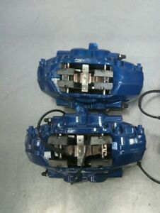 Q110 2017 Bmw M240i Oem Brembo Brake Caliper Front Set fronts Calipers Only