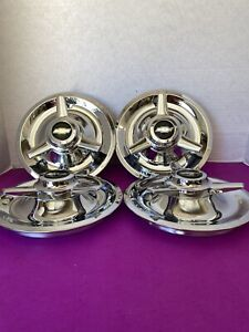4 Spinners Center Caps For Cragar American Racing Smoothie Wheels 7 5 Chevy