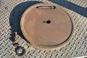 Ihc International Lb 1 1 2 2 1 2 Hit Miss Gas Engine Cast Iron Flywheel