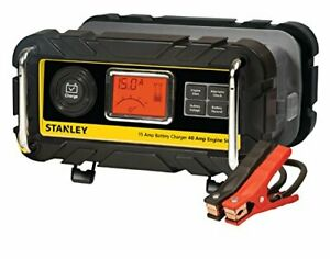 Best Automatic 15a Battery Charger With 40a Engine Start Stanley Automotive Tool