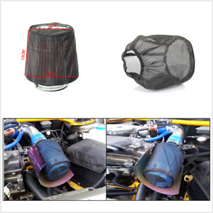 High Flow Air Filter Protective Cover Waterproof Oilproof Dustproof Universal