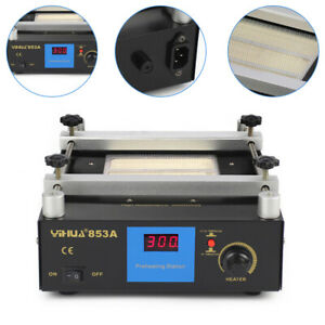 Anti static Bga Infrared Preheating Rework Station Smd Pcb Preheater 853a 600w