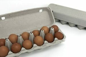 100 Pack Of 12 Count Egg Cartons 100 Bundle Center Is Blank For Your Label