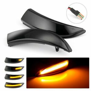 Dynamic Led Wing Mirror Side Indicator Flowing Light For Ford Fiesta B max Us