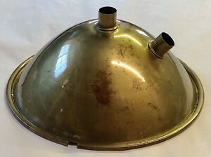 Original 1930 s Ford Headlight 2 Bulb 8 Brass Reflector Headlamp 8 5 Two Lite