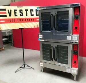 Vulcan Vc4ed Double Stack Full size Electric Bakery Restaurant Convection Oven