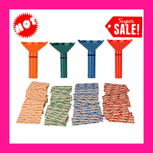Coin Counters Coin Sorters Tubes Bundle Of 4 Color coded Coin Tubes