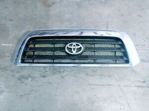 2007 2009 Toyota Tundra Oem Trd Front Grille Chrome Good Shape