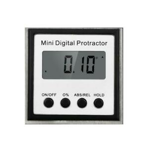 Stainless Steel Electronic Inclinometer Mini Digital Protractor Angle Gauge
