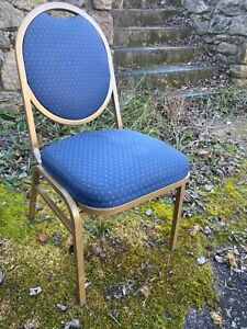109 Uphholstered Stack Chairs Thick Cloth Seats Hi quality Good Condition