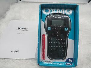 Dymo Labelmanager 160 Label Maker Black With Six Batteries