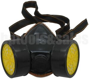 High Grade Anti dust Paint Respirator Mask Gas Safety Chemical Paint Gas Vapor