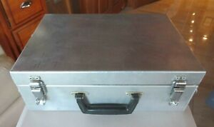 Large Industrial strength Aluminum Carrying Case