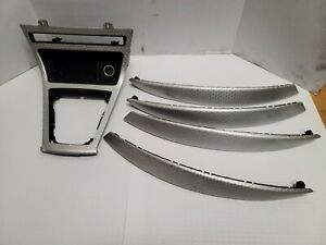 2004 05 2006 Bmw E83 X3 Suv Factory Interior Aluminum Trim Finisher Set Door Oem