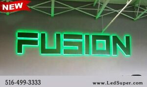 New led Back Lit Channel Letters Sign 20 Customize Orders Only