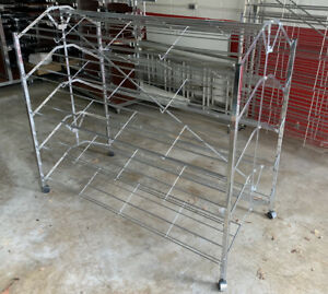 Commercial Double Sided Shoe Rack Versatile For Many Uses