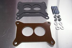 Fits 2300 Holley Carb Riser Phenolic Insulator Spacer Fits Ford Mustang 289 1 4