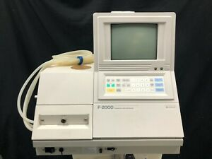 Hitachi F 2000 Fluorescence Spectrophotometer tested