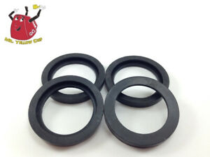 4 New Rubber Gaskets Gas Can Spout Gott Rubbermaid Blitz Wedco Scepter Eagle