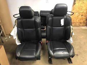 2015 18 Challenger Black X9 Bucket Seat Set Front Rear Napa Leather Sport Seats
