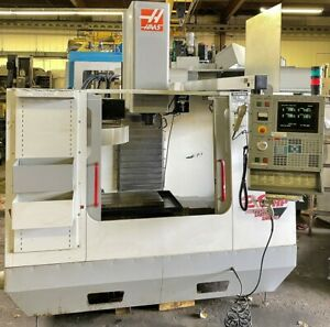 Haas Vf oe Cnc Vertical Machining Center Age 2000 See Video