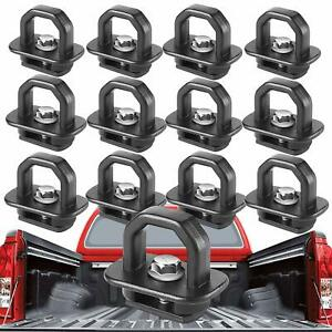 12pcs Tie Down Anchor Truck Bed Side Wall Anchors For Chevy Silverado Gmc Sierra
