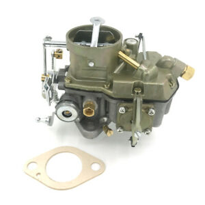 Autolite 1100 Carburetor Manual Choke 1963 1968 Ford Falcon Mustang 6 Cyl Eng