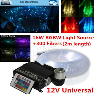 12v Car Headliner Star Light Kit Roof Ceiling Lights Fiber Optic Star Ceiling
