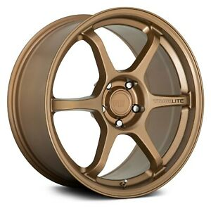 Motegi Racing Mr145 Traklite 3 0 Wheels 18x9 5 45 5x100 Bronze Rims Set Of 4