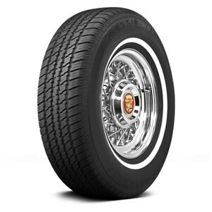 Coker Set Of 4 Tires P235 75r15 S Maxxis 3 4 Inch Whitewall