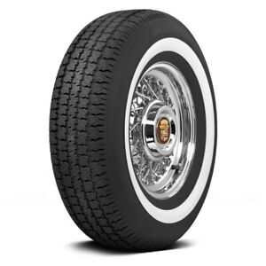 Coker Set Of 4 Tires P235 75r15 S American Classic 1 6 Inch Whitewall